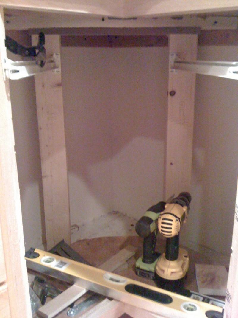 Diy Corner Cabinet Drawers The Owner Builder Network