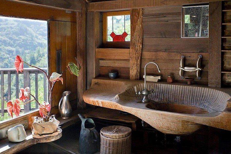 Beautiful Timber Bathroom Basins