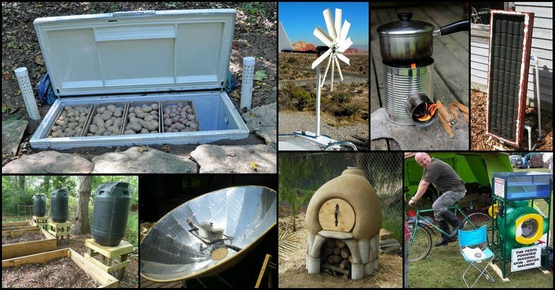 Off Grid Projects To Reduce Your Energy And Water Consumption