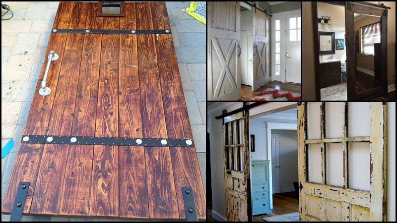 Stylish Sliding Barn Door Ideas