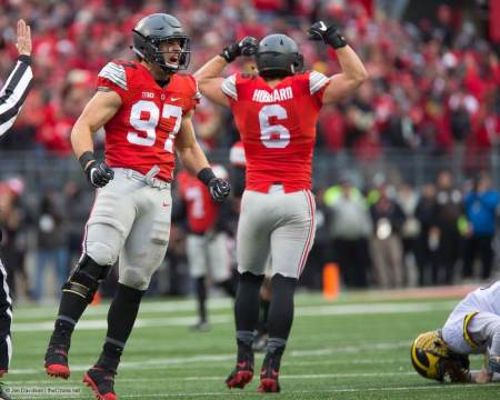 Sam Hubbard and Nick Bosa