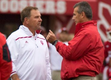 Ohio State Football Kevin Wilson and Urban Meyer