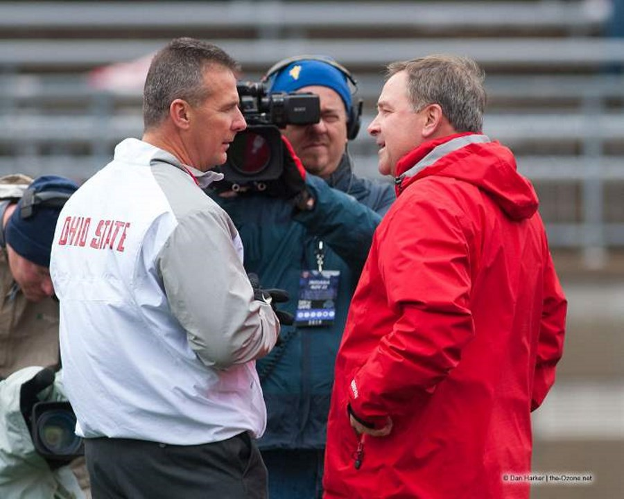 Kevin Wilson and Urban Meyer