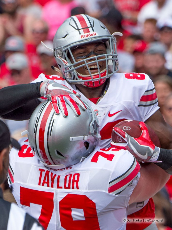 Brady Taylor and Terry McLaurin