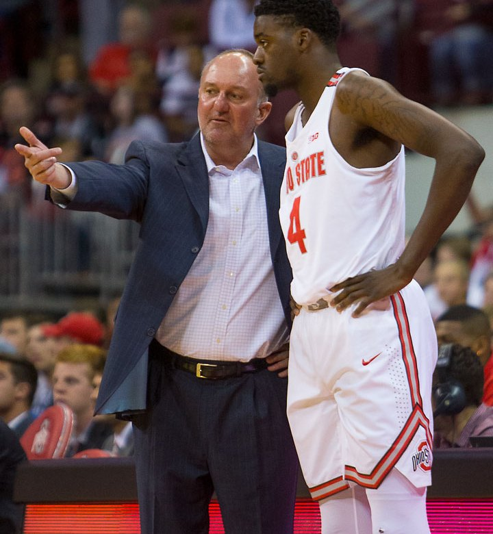 Video Thad Matta Gives an Emotional Goodbye to Ohio State
