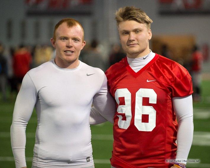 Sean Nuernberger and Cam Johnston