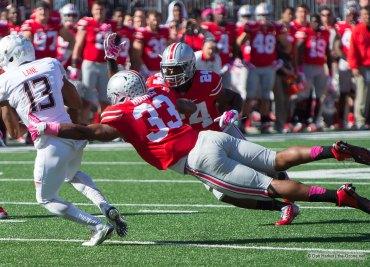 Dante Booker vs Maryland Ohio State Football