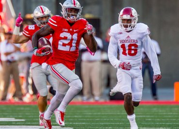 Parris Campbell Indiana Kickoff Return Ohio State