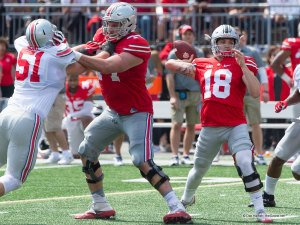 Tate Martell Ohio State Football Spring Game