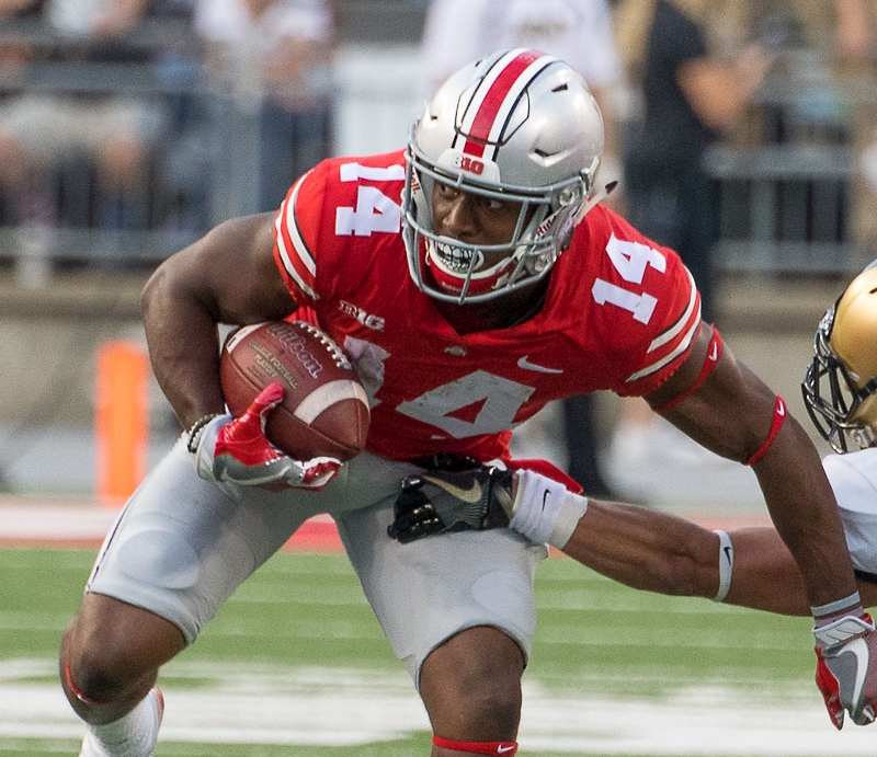Ohio State Football Buckeyes Run Pass Option