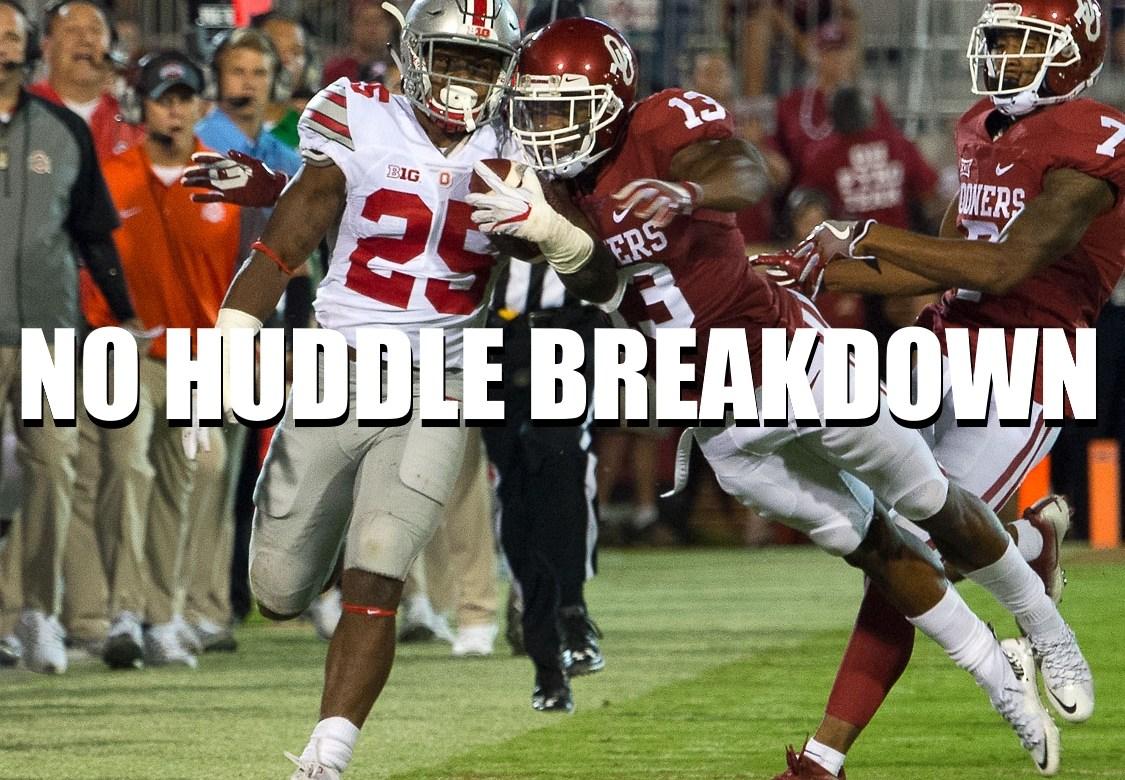 No Huddle Breakdown Oklahoma Ohio State 2017