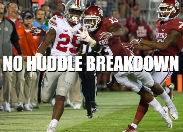 No Huddle Breakdown Oklahoma Ohio State 2017