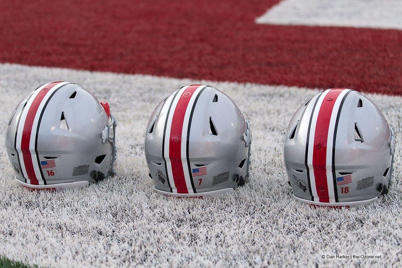 Ohio State Helmets Before Indiana
