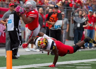 J.K. Dobbins scores vs. Maryland