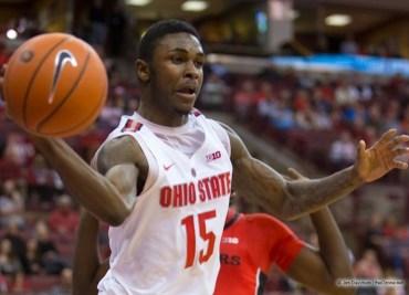 Kam Williams Ohio State Basketball Buckeyes