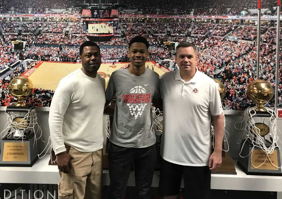Zeb Jackson Chris Holtmann Ohio State Basketball Recruiting