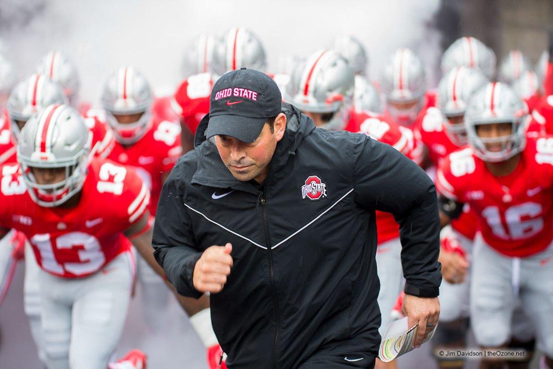 Ohio State acting head coach Ryan Day