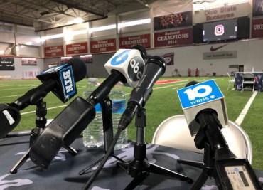 Ohio State football interviews WHAC