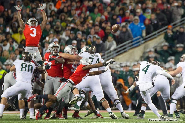 2015 Michigan State Ohio State field goal