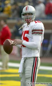 001 Scott McMullen Ohio State Michigan 2003 The Game football