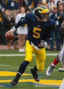 018 Tate Forcier Ohio State Michigan 2009 football