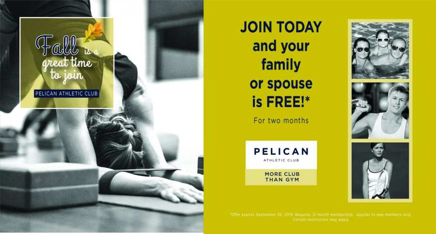 Pelican Athletic Club Fall Promotion