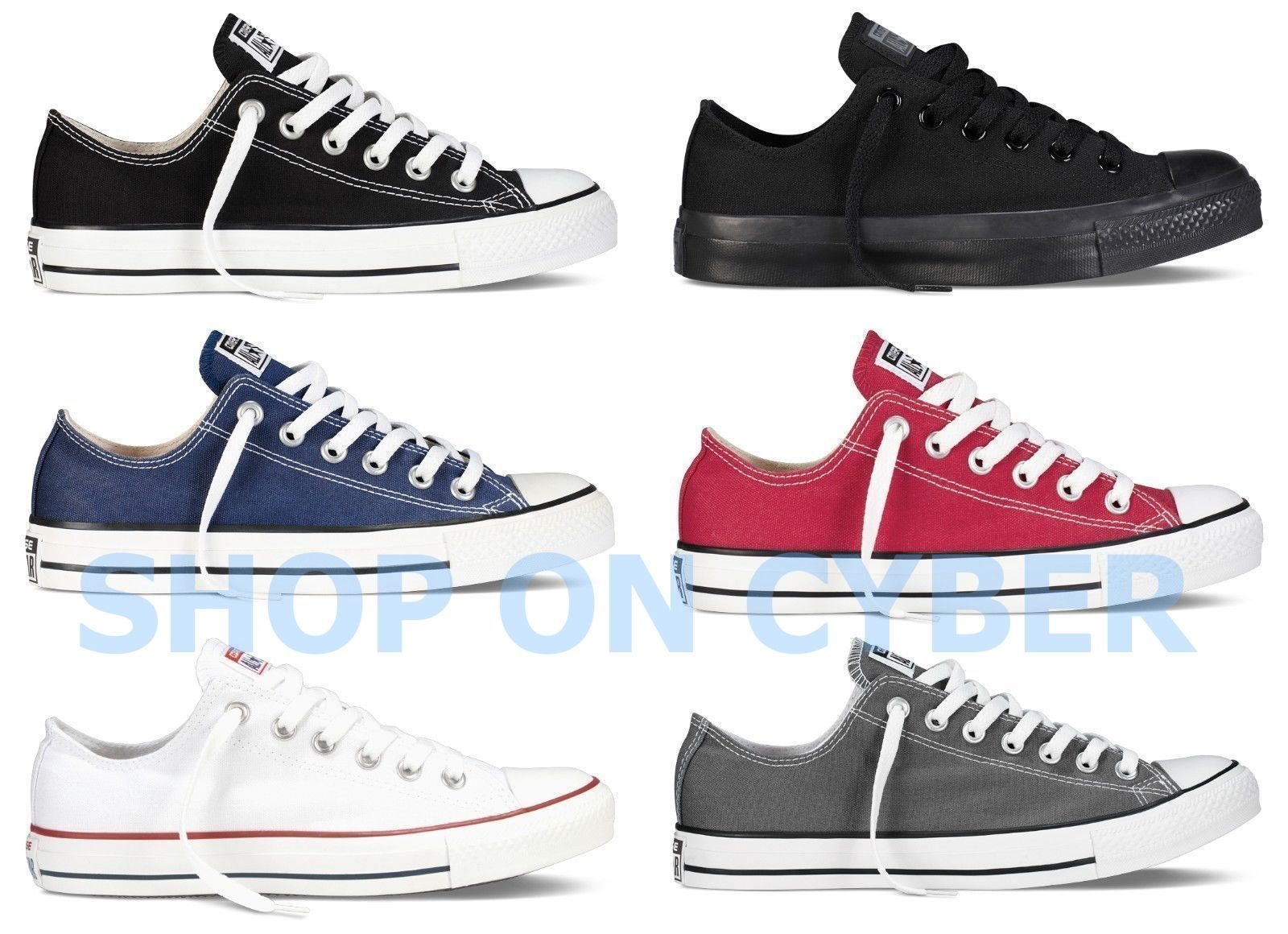 27e7f2a5a88e Click to enlarge. HomeFashionMen Converse All Star Chuck Taylor Canvas  Shoes Low Top Brand New All Size