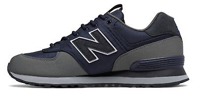 new product 288bc 0e69f New Balance Men's 574 Outdoor Escape Shoes Navy with Grey