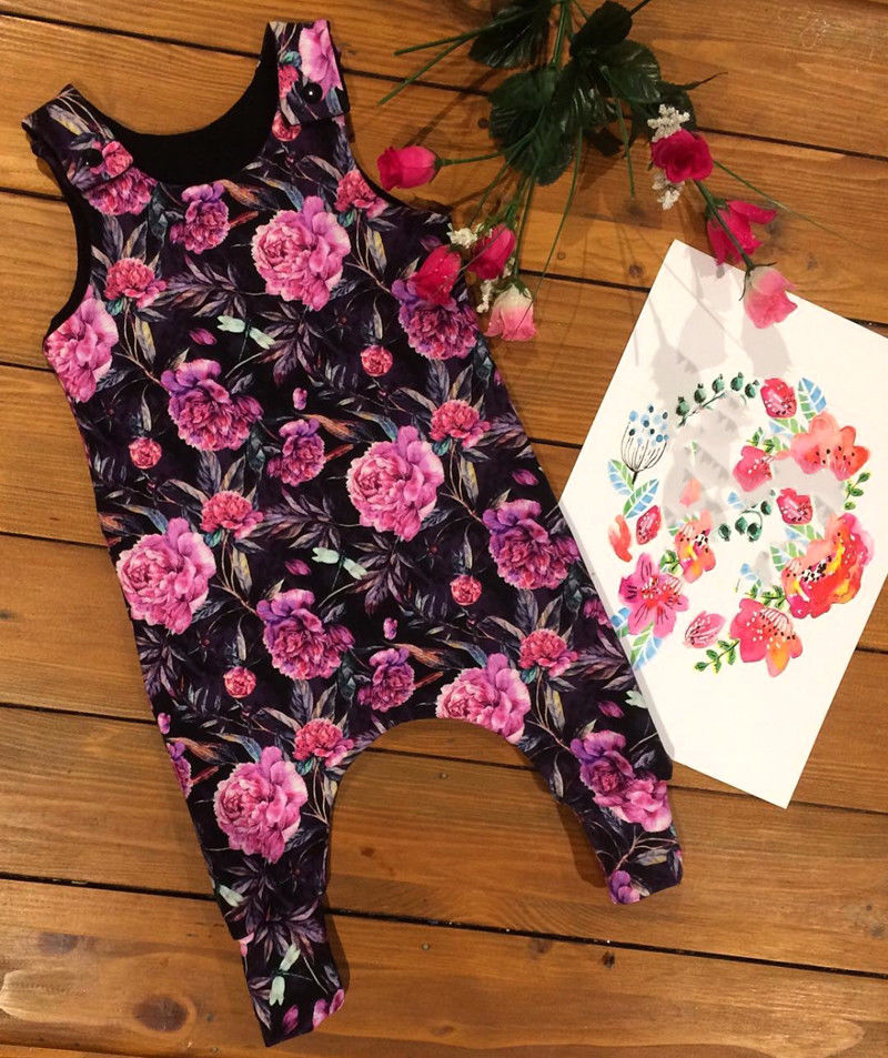 4181caabdea6 Click to enlarge. HomeFashionBabies Newborn Kids Baby Girl Floral Romper  Jumpsuit Playsuit Clothes Outfits Summer US