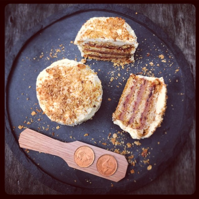 Little Anzac Ripple Cakes