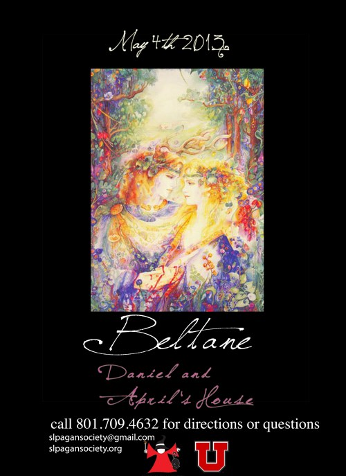 Beltane 2013 Flyer by Amber Hafen