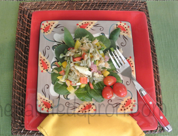 chopped Italian salad2 thepaintedapron.com