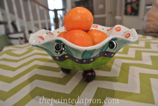 crazy bead bowl 1 thepaintedapron.com