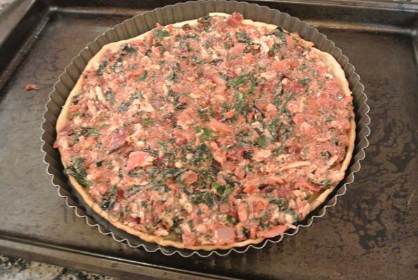 swiss chard tart thepaintedapron.com