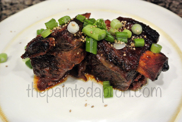 Asian short ribs 2 thepaintedapron.com