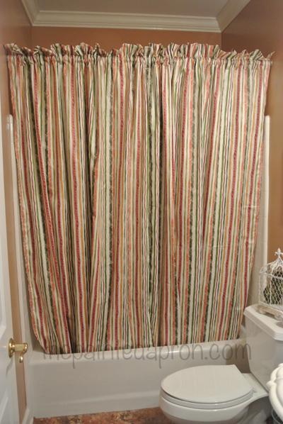 bath curtain thepaintedapron.com
