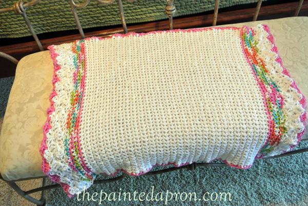 lacey blanket thepaintedapron.com