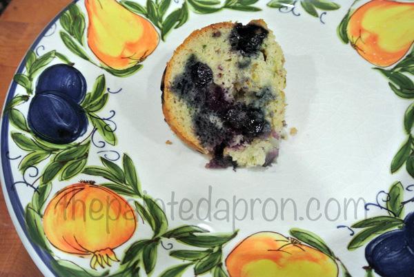 blueberry zucchini cake 2 thepaintedapron.com