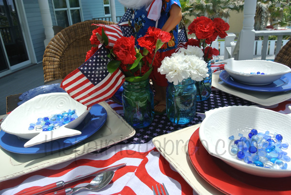 4th of July centerpiece thepaintedapron.com 2
