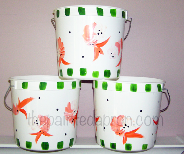shrimp buckets thepaintedapron.com