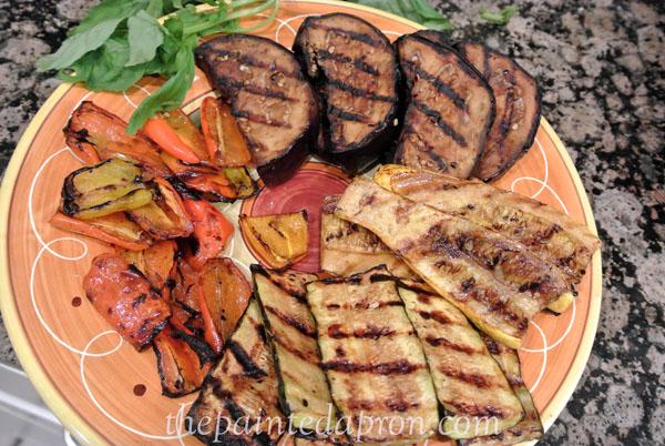 grilled veggies thepaintedapron.com