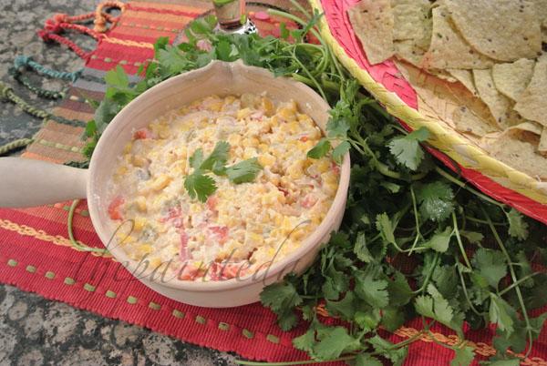 corn dip thepaintedapron.com