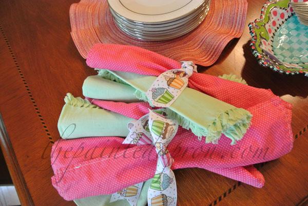 napkins thepaintedapron.com