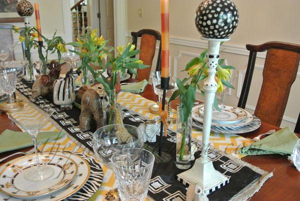 safari table thepaintedapron.com