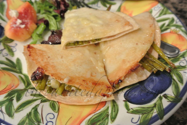 tomato jam and asparagus tortilla thepaintedapron.com