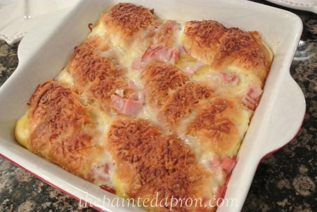 brunch croissant bake thepaintedapron.com