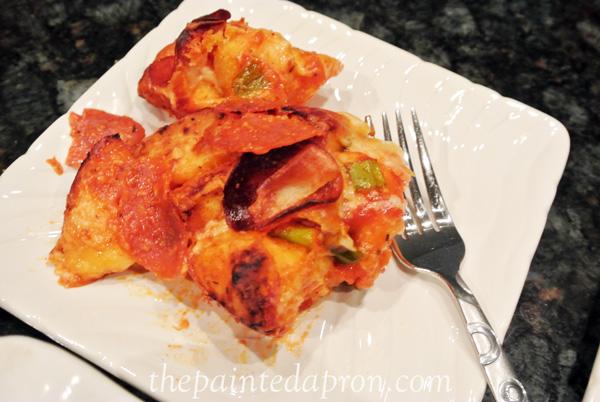 pizza bread thepaintedapron.com