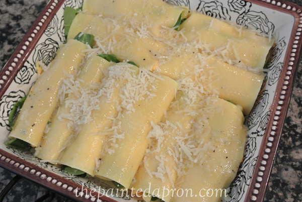 butternut and spinach cannelloni thepaintedapron.com