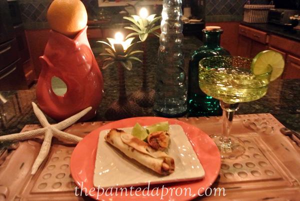 candlelight thepaintedapron.com