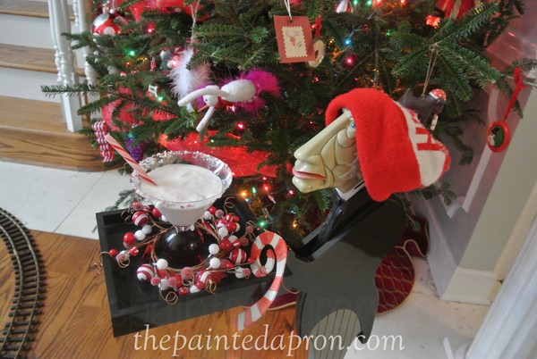 north pole cocktail thepaintedapron.com